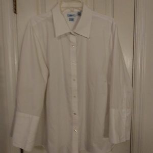 Izod plus size blouse